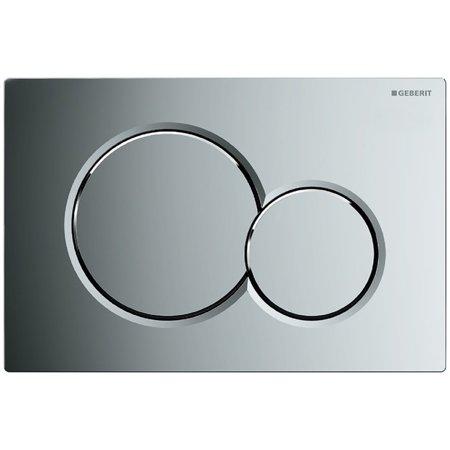 Geberit 115.770 Sigma 01 Dual Flush 1.6 / .8 Gpf Actuator Plate Geberit Dual Flush