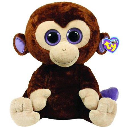 Coconut the Monkey (Large)..., By Ty Beanie Boos Ship from US