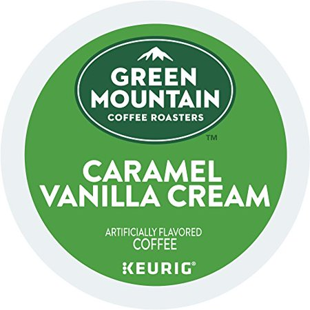 Green Mountain Coffee Caramel & Vanilla Cream Keurig L-Cups 72 count