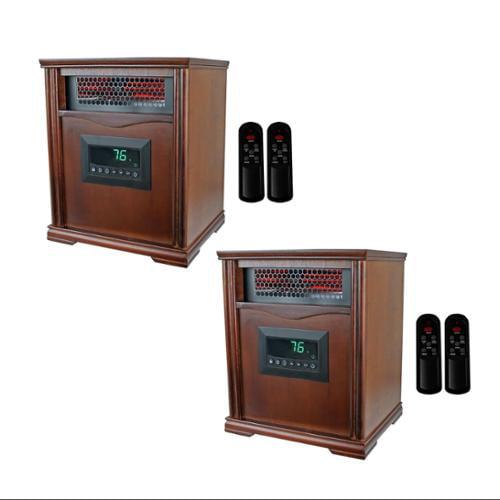 1001HH 150 Sq Ft 1500W Infrared Quartz Electric Heaters - Walmart.com