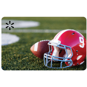 Fall Football Walmart eGift Card