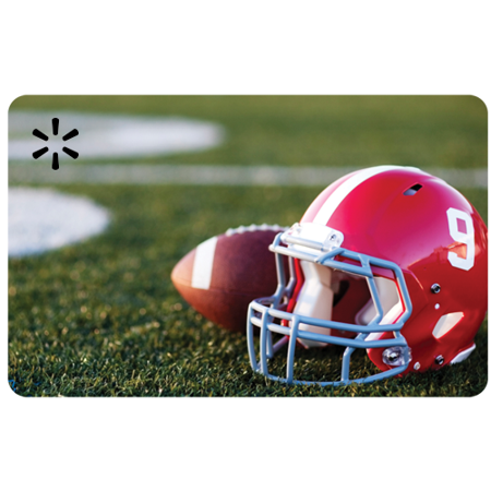 Fall Football Walmart eGift Card