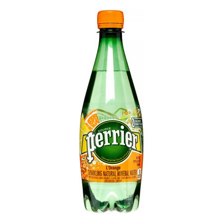 Perrier Sparkling Natural Mineral Water  Lorange  16 9 Fl Oz  24 Count