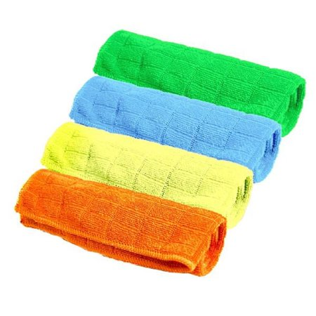 (24 Pack) Spotless Microfiber Cleaning Cloths - Bright Colors