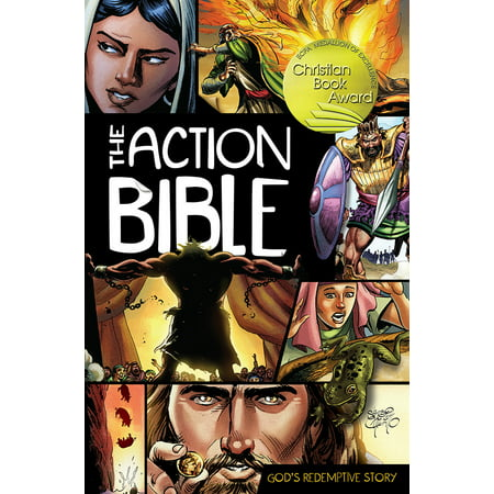 The Action Bible: God's Redemptive Story (Hardcover) (Halloween Stories Ks1)