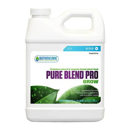 Botanicare BCPBPGQT 1-Quart Botanicare Pure Blend Pro Gro Plant Food [1 Quart]