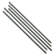 Neiko 10043A 5 Piece Phillips and Flathead Screwdriver Power Driver Bit Set | 12-Inch Extra Long Length | 1/4-Inch Shank