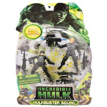 Incredible Hulk Movie Action Figure Hulk Buster 2 Pack