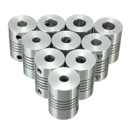 5/6/6.35/8mm Flexible Shaft Coupling Rigid CNC Stepper Couplings Motor Coupler