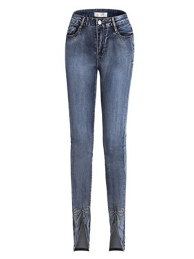 Women's Casual Stretchy Jegging Jeans Skinny Slim Fit Casual Pencil Denim Pants