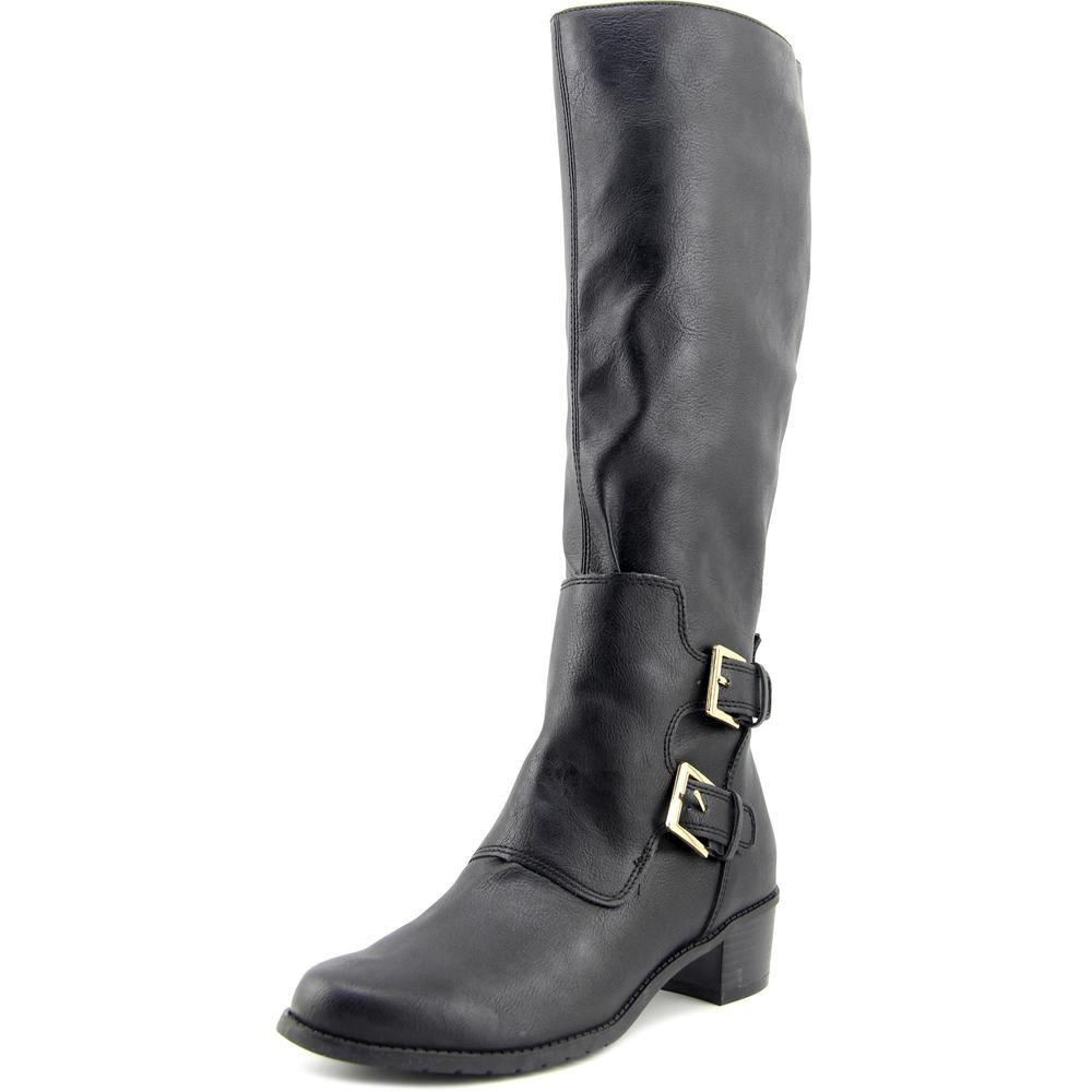 Aerosoles Ever After Women Round Toe Synthetic Black Knee High Boot by Aerosoles