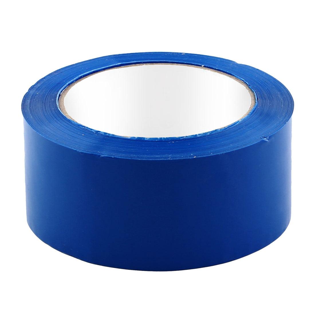 Shipping PVC Box Sealing Adhesive Tape Dark Blue 1.9'' x 98.4 Yards(295.3 Ft)