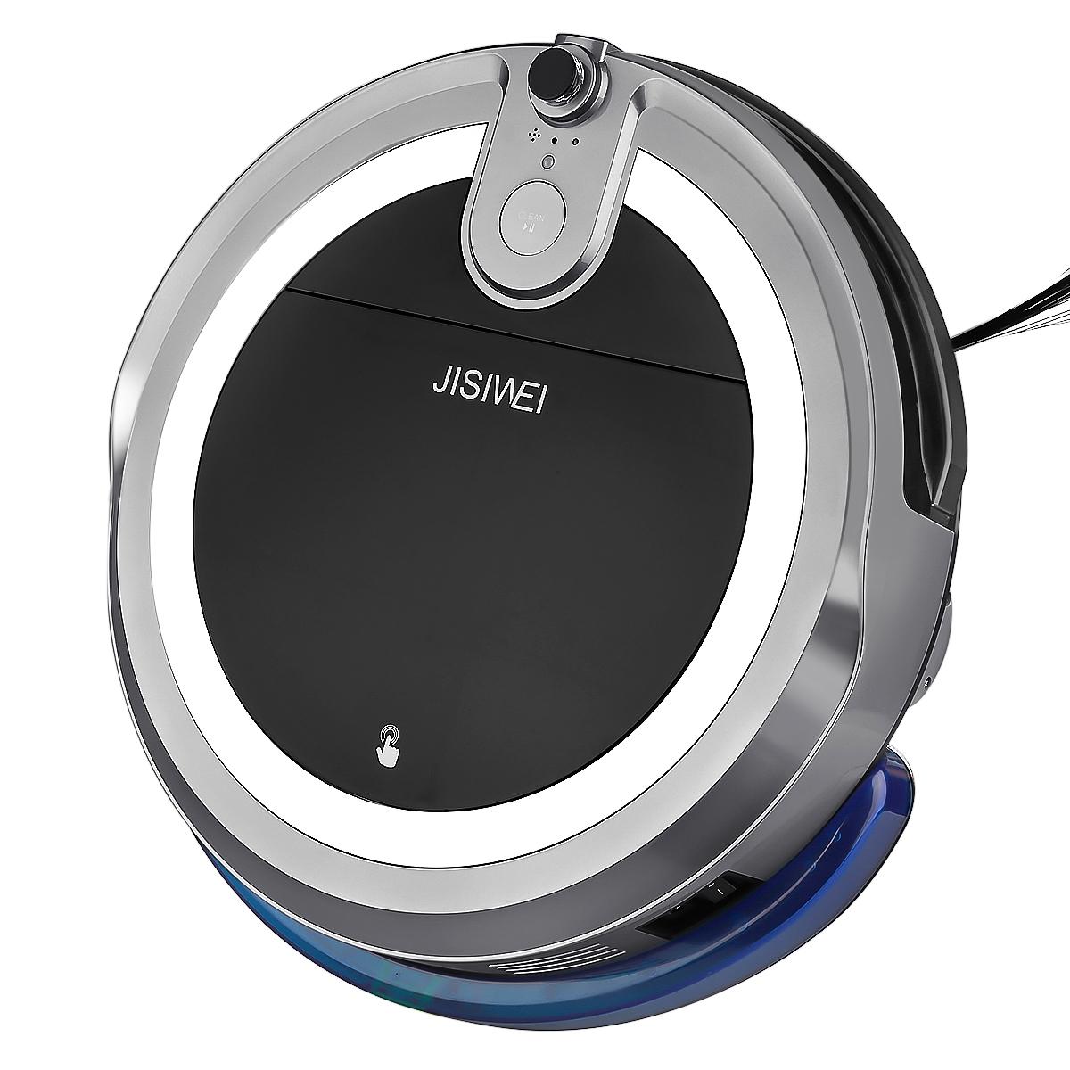 JISIWEI I3 Wi-Fi Enabled Robotic Vacuum Cleaner Self Char...