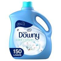 Downy Cool Cotton, 150 Loads Liquid Fabric Softener, 129 fl oz