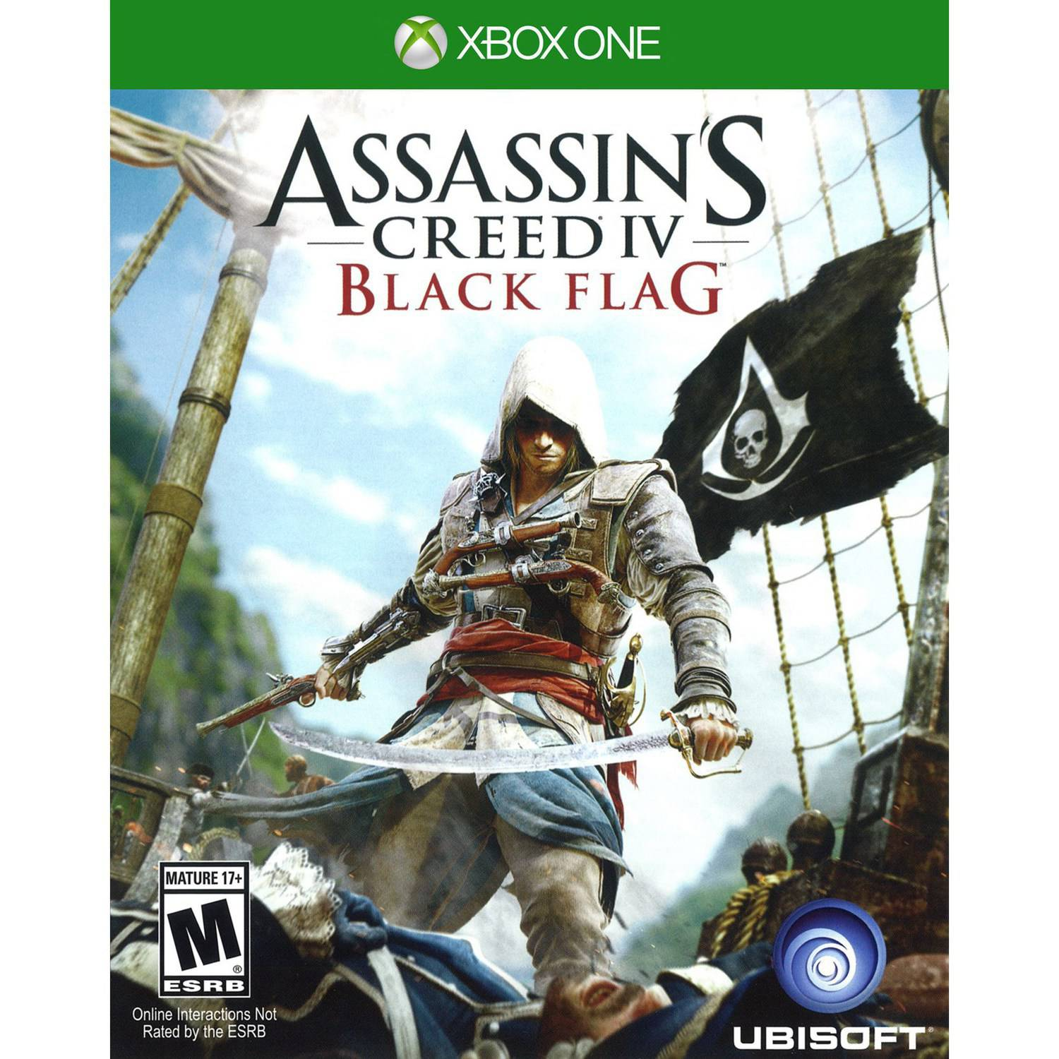 Assassin's Creed IV: Black Flag, Ubisoft, Xbox One, 008888538110