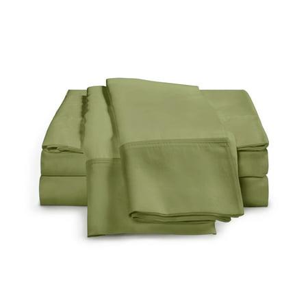 Regency 100% Cotton Percale Weave 4-Piece Crisp Percale Sheets