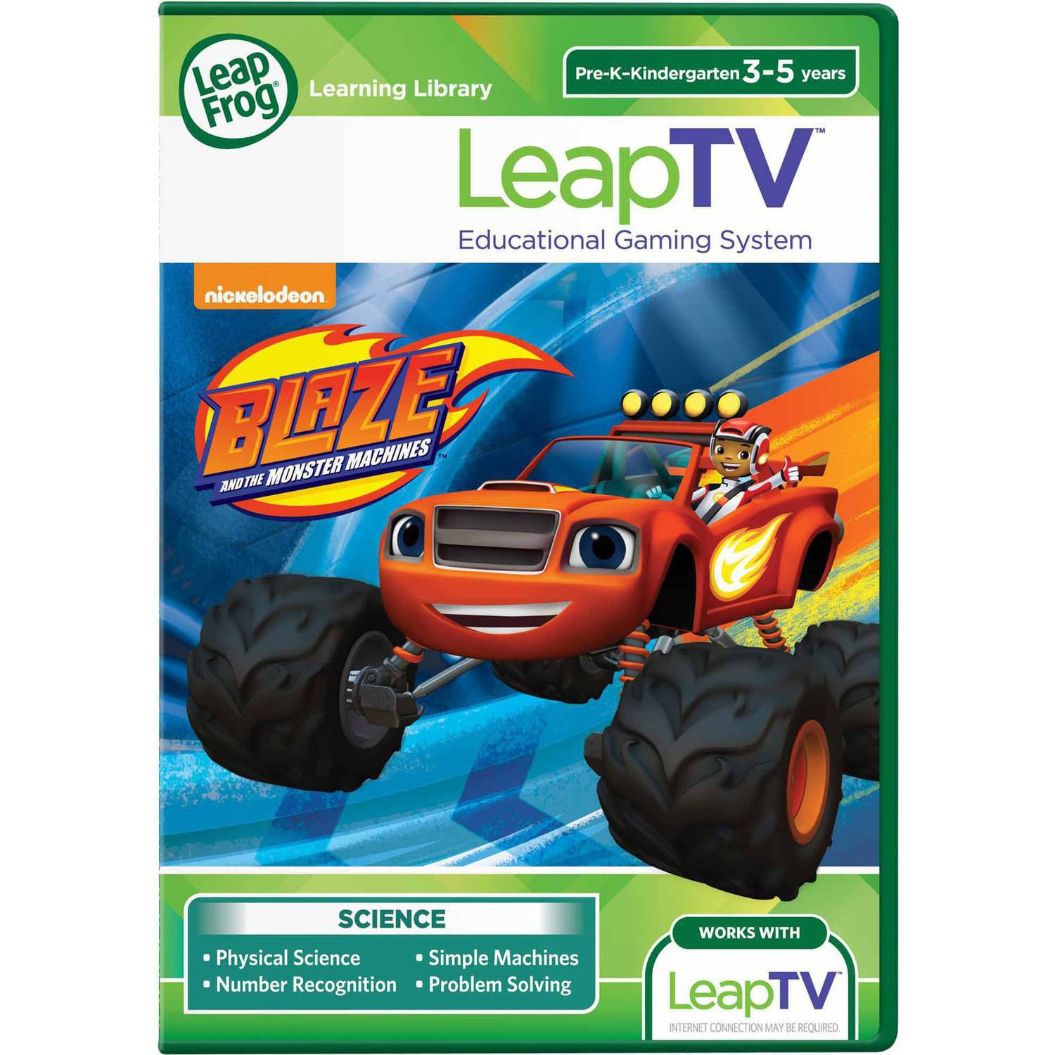 LeapFrog LeapTV: Blaze and the Monster Machines Educational, Active Video Game by LeapFrog