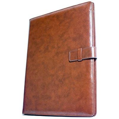 Leather resume folio