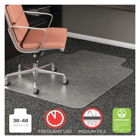 Deflecto Rollamat 36 X 48 Chair Mat For Medium Pile Carpet