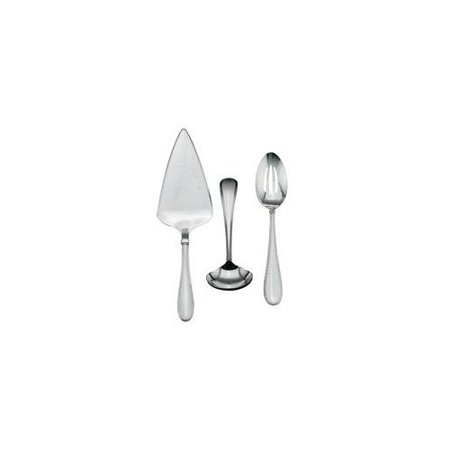 Vera Wang Stainless Vera Lace 3-Piece Flatware Serving