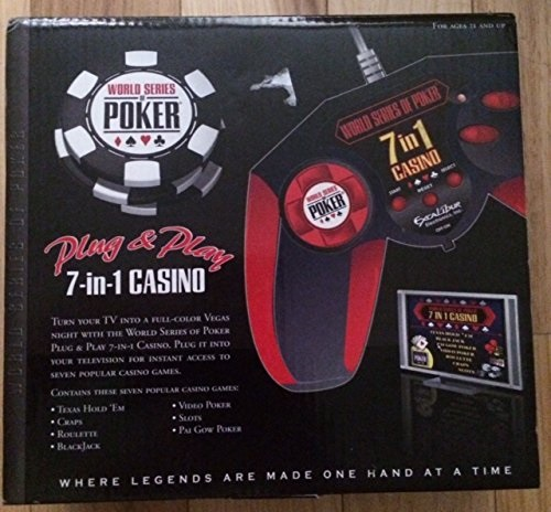 Excalibur Plug and Play 7 in 1 Casino by