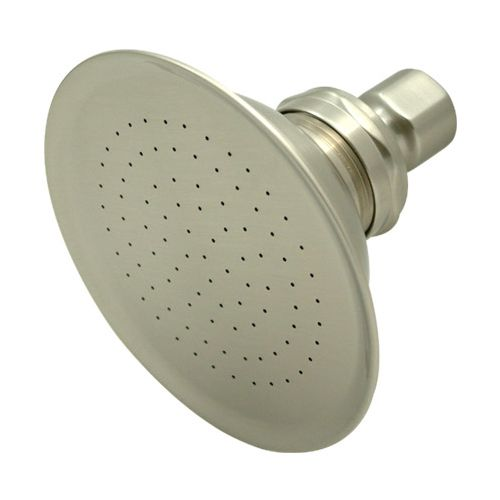 "Elements Of Design EDP108 4-7/8"" Round Brass Rain Shower Head with 91 Jets & 1/2"" IPS Connection from the Hot Springs Collection"