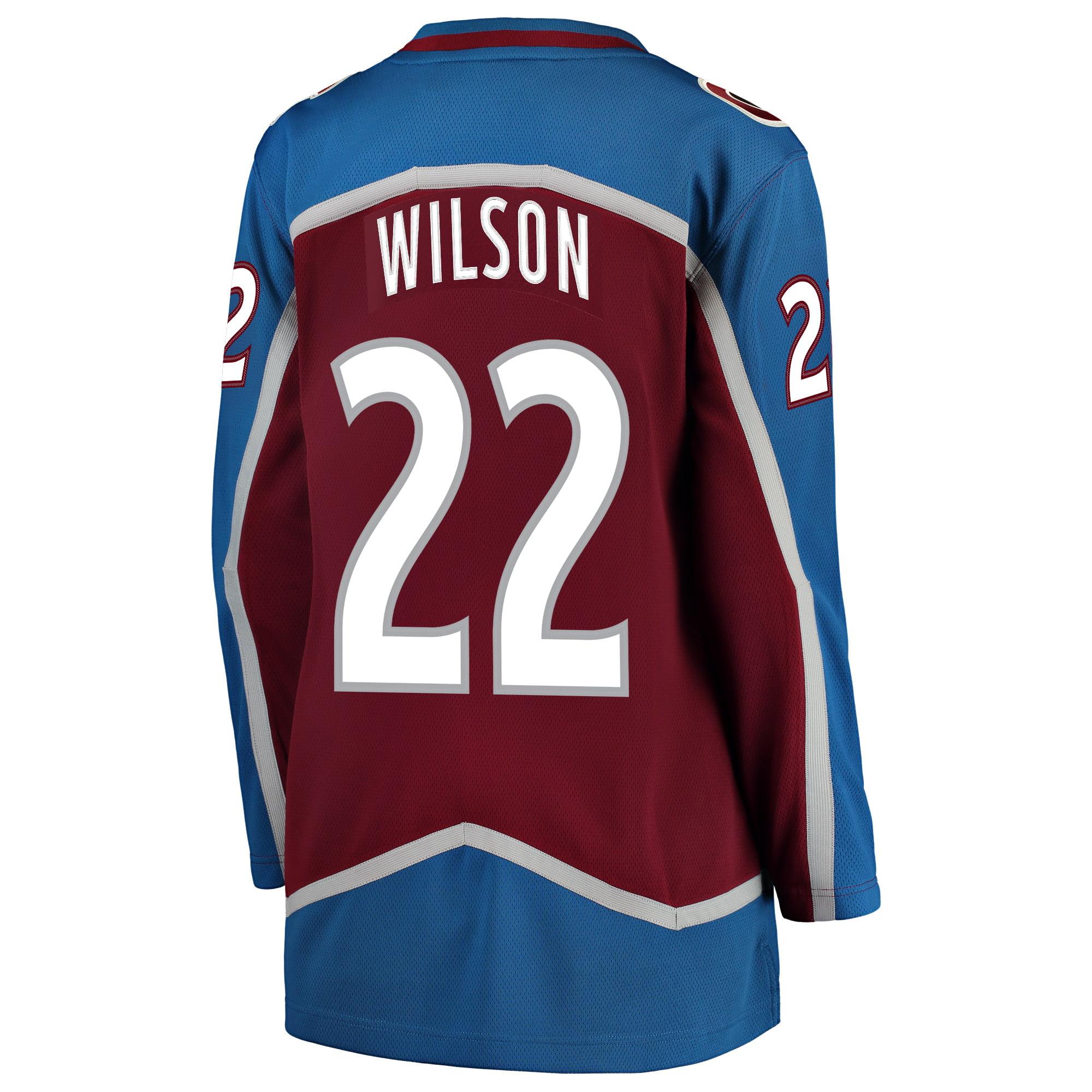 sale retailer bce74 b0486 Colin Wilson Colorado Avalanche Fanatics Branded Women's Breakaway Player  Jersey - Burgundy
