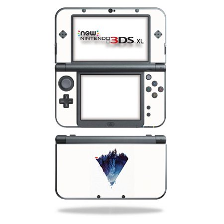 MightySkins Skin Compatible With Nintendo 3DS XL (2015) - Black Grass | Protective, Durable, and Unique Vinyl Decal wrap cover | Easy To Apply, Remove, and Change Styles | Made in the (New 3ds Xl Black Screen Of Death Fix)