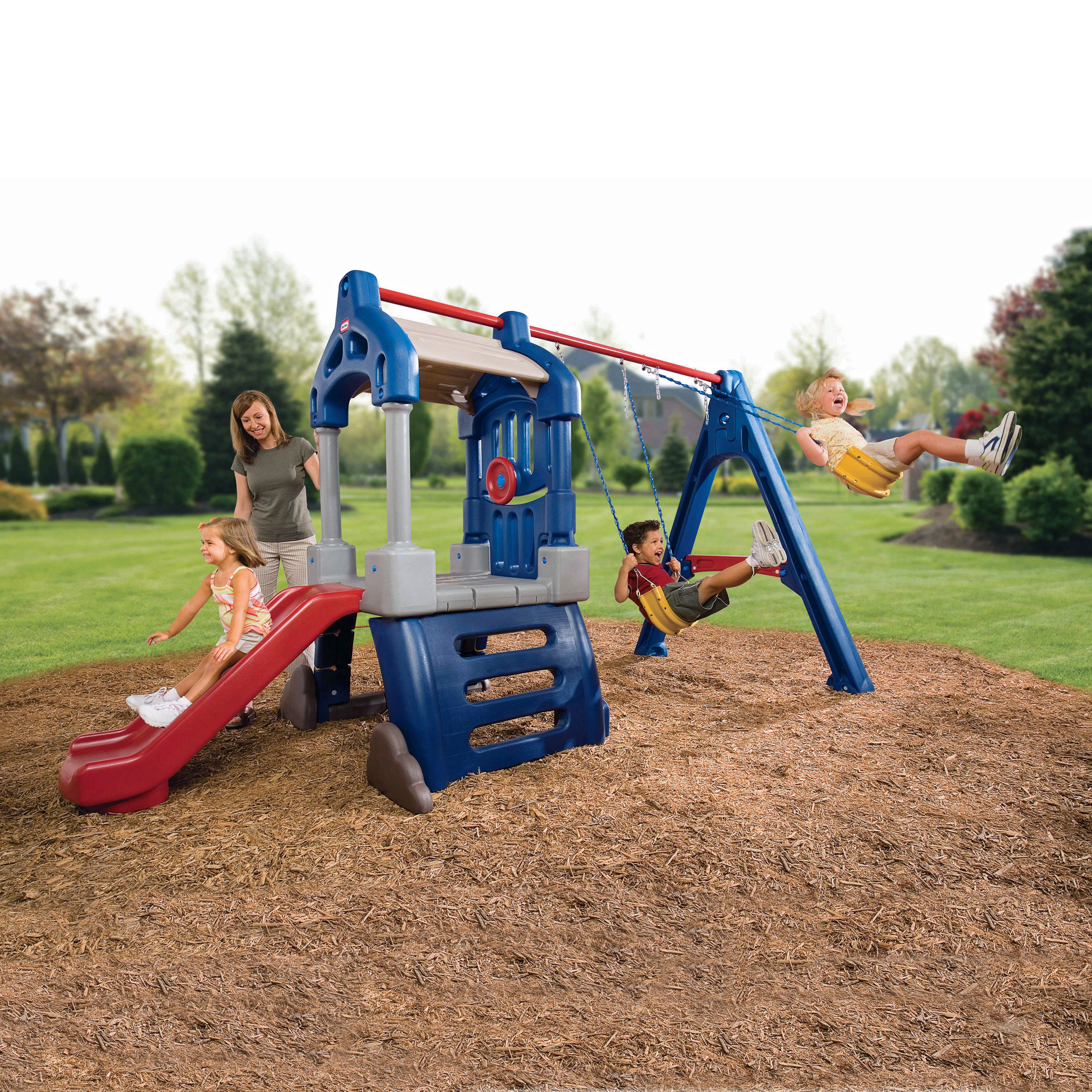 Little Tikes Clubhouse Swing Set by MGA Entertainment