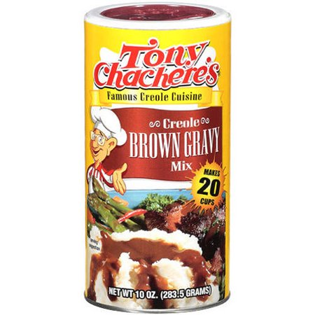 Tony Chacheres Creole Brown Gravy Mix  10 Oz