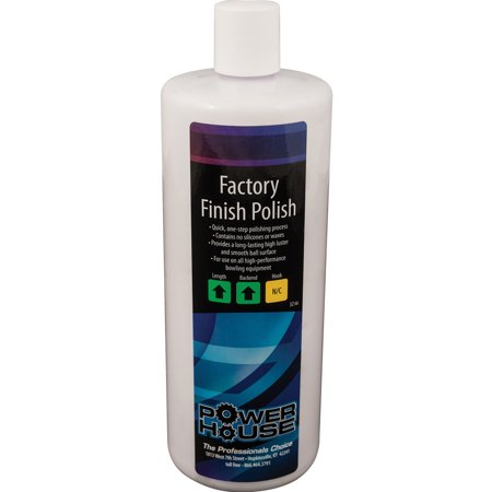 Powerhouse Factory Finish Bowling Ball Polish, 32 oz.