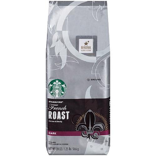 Starbucks French Roast Ground Coffee, 20 oz