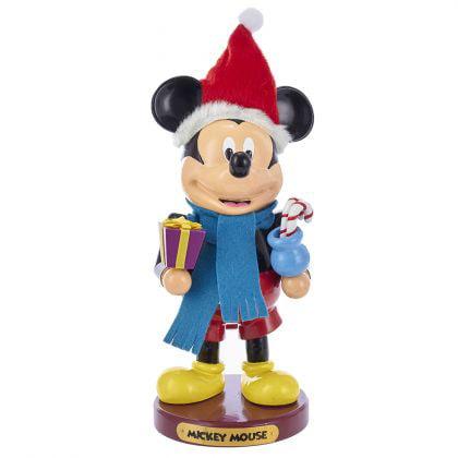 Kurt Adler 11-Inch Wooden Mickey Mouse Nutcracker