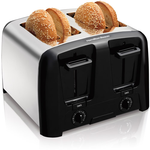 Hamilton Beach Cool Wall 4 Slice Toaster | Model# 24614Z