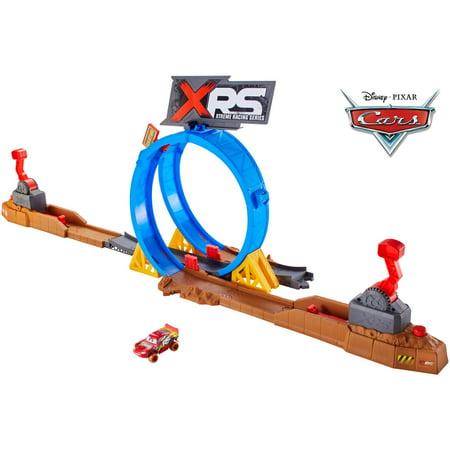 Disney/Pixar Cars XRS Mud Racing Crash Challenge Playset
