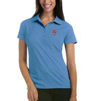 Colorado Rapids Antigua Women's Pique Desert Dry Xtra-Lite Polo - Blue