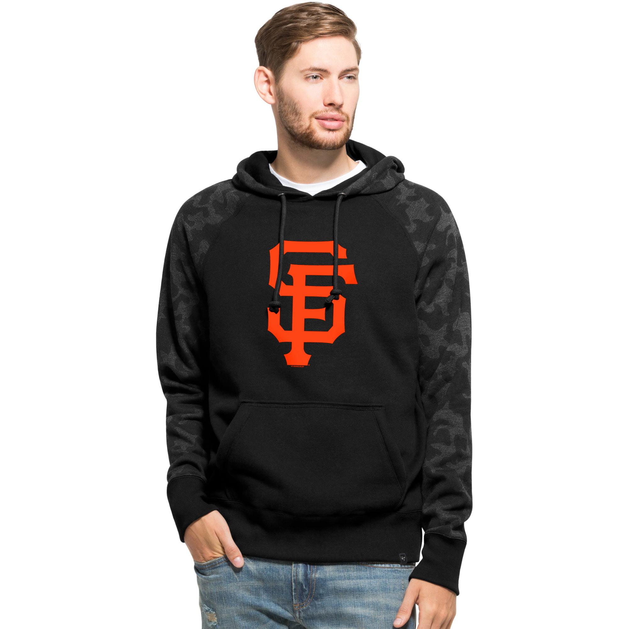 San Francisco Giants '47 Stealth Hoodie - Black
