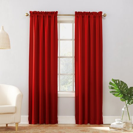 (No. 918 Energy Room Darkening Rod Pocket Curtain Panel)