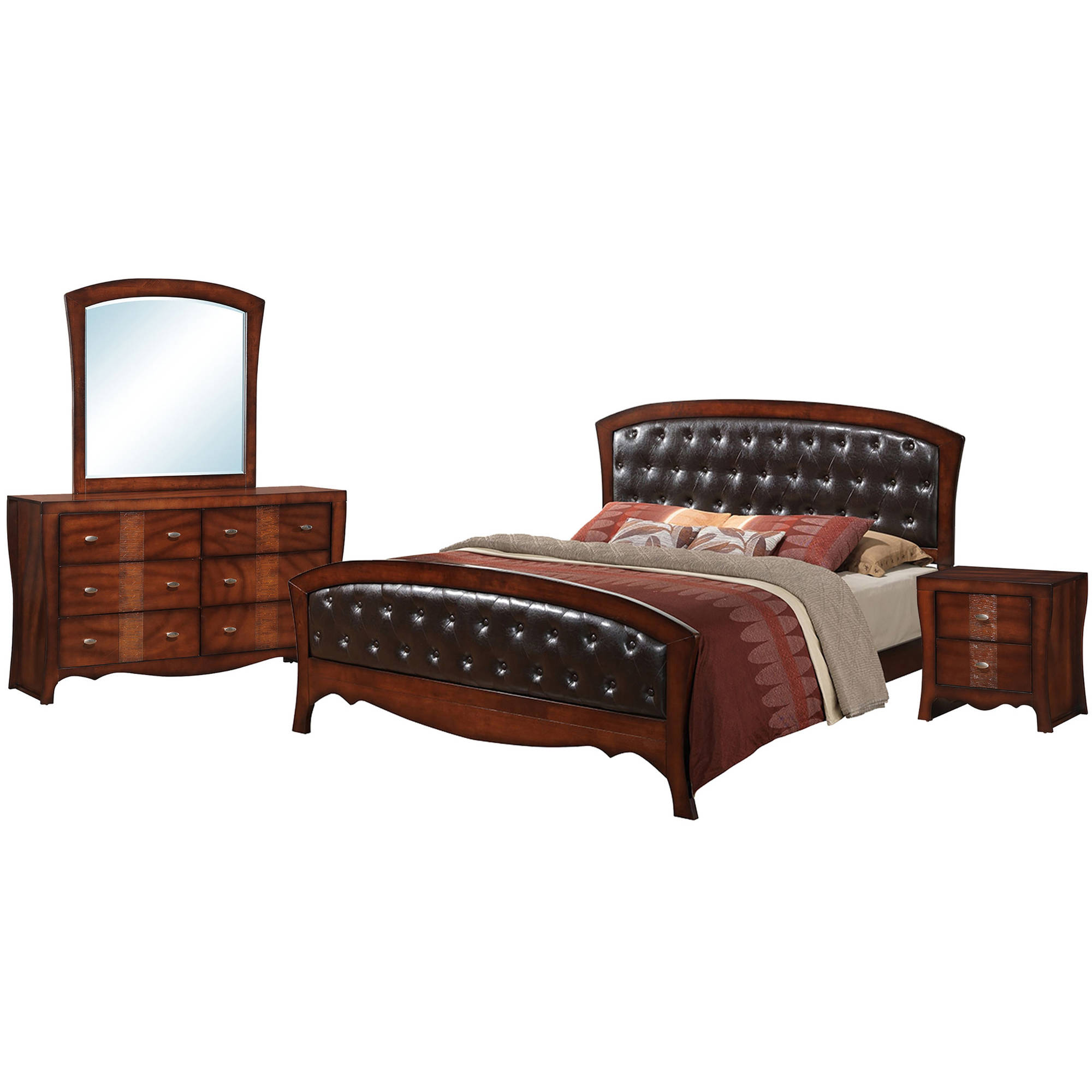 Picket House Furnishings Jansen Queen Panel 4PC Bedroom Set