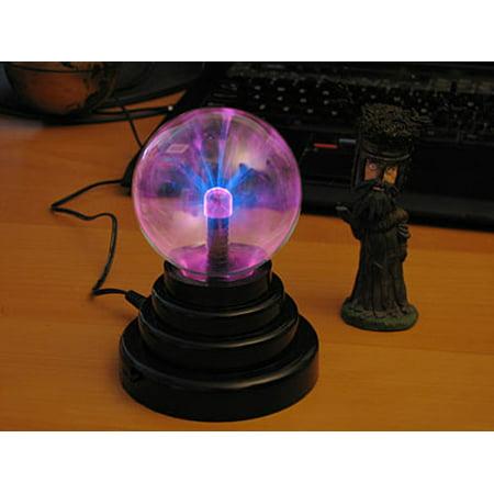 "USB and Battery Mini Plasma Ball Light Lamp 3"" Desk Decor Effects Portable"