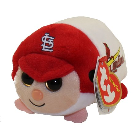 TY Beanie Boos - Teeny Tys Stackable Plush - MLB - ST LOUIS