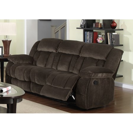 Sunset Trading Teddy Bear Reclining Sofa