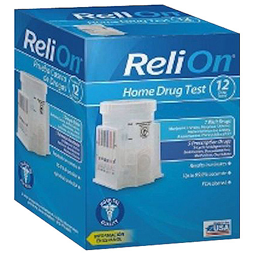 ReliOn 12 Panel Home Drug Test Kit