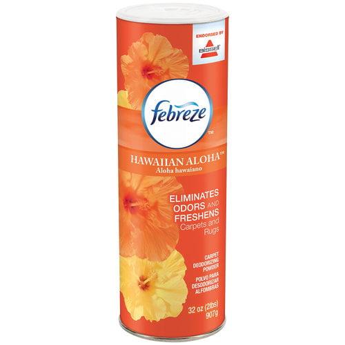 Febreze Hawaiian Aloha Carpet Deodorizing Powder, 32 oz