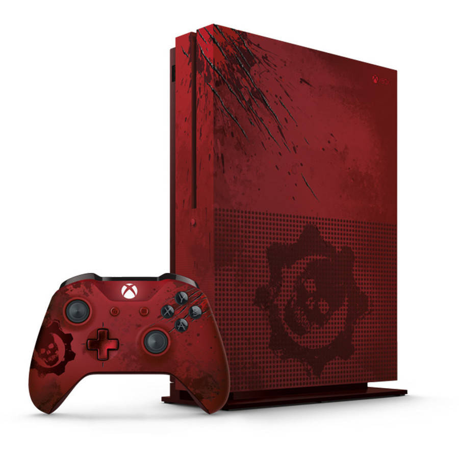 Xbox One S 2TB Console Gears of War 4 Limited Edition Bundle (Xbox One)