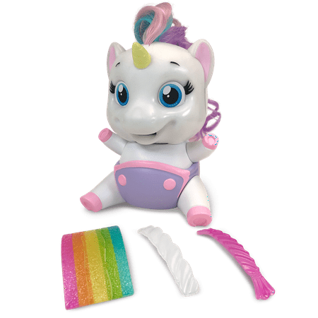 Munchkinz, Interactive Pet, Eating, Unicorn