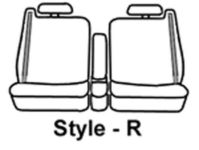Covercraft SeatSaver Second Row Waterproof Grey Grey SS8460WFGY
