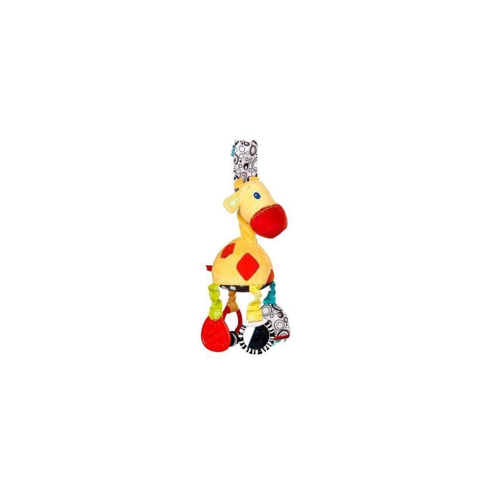 Bright Starts Start Your Senses Sensory Giraffe Take-Along Toy, Unisex by Bright Starts