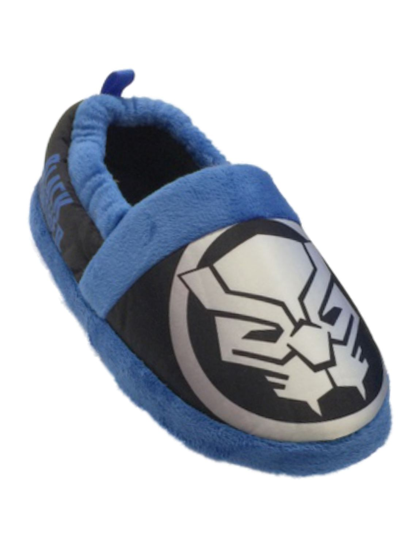 Marvel Boys Blue Black Panther Slippers