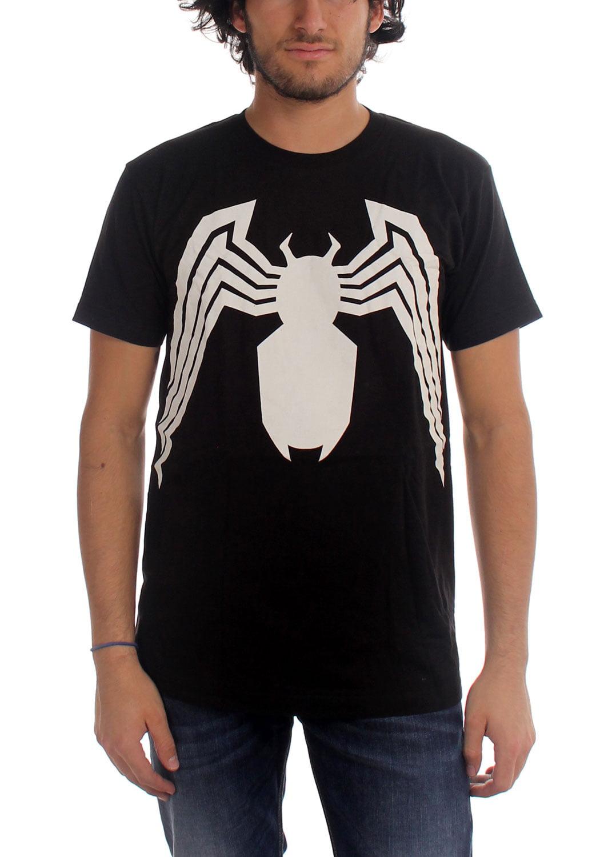55e5cc46 Marvel - Marvel Comics - Mens Venom Venom Suit Fitted T-Shirt In Black -  Walmart.com